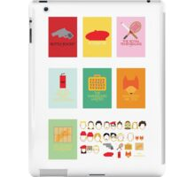 Wes Through The Years iPad Case/Skin