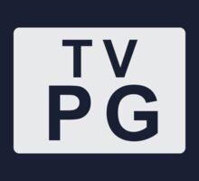 TV PG (United States) white Baby Tee