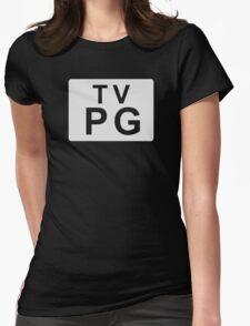 TV PG (United States) white T-Shirt