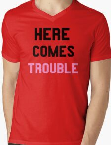 Double Trouble (1 of 2) Mens V-Neck T-Shirt