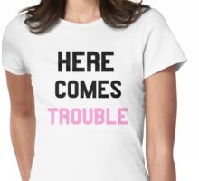 Double Trouble (1 of 2) Womens Fitted T-Shirt