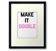 Double Trouble (2 of 2) Framed Print