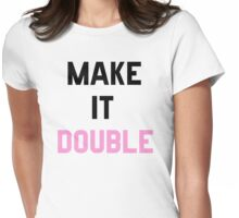 Double Trouble (2 of 2) Womens Fitted T-Shirt
