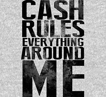 Cash Rules Everything Around Me Mens V-Neck T-Shirt