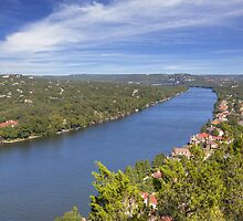 Austin Images - Mount Bonnell on an Autumn Afternoon by RobGreebonPhoto