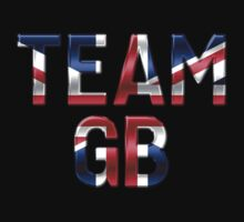 Team GB - British Flag - Metallic Text by graphix