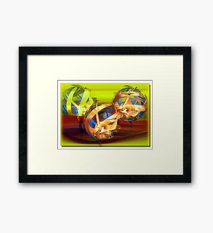 ©DA Fractal Dream IAT Framed Print