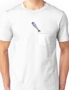 Pocketed 10th Doctor's Sonic Screwdriver Unisex T-Shirt