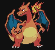 Pixel Charizard by Flaaffy