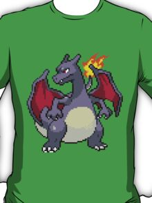 Pixel Shiny Charizard T-Shirt