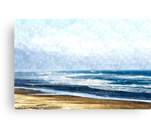 Summertime Oceanside Canvas Print