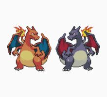 Pixel Charizards V.2 Kids Clothes