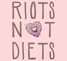 Riots Not Diets Kids Clothes