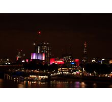 Royal Festival Hall and the Shard  Photographic Print