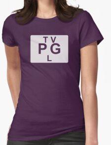 TV PG L (United States) white T-Shirt