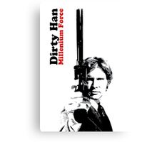 Dirty Han - Millenium Force Canvas Print