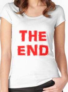 The End Women's Fitted Scoop T-Shirt
