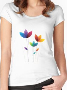 My Flower T-Shirts & Hoodies Women's Fitted Scoop T-Shirt