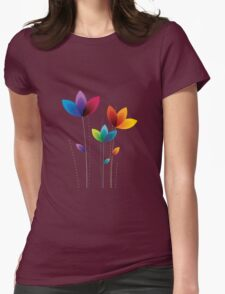 My Flower T-Shirts & Hoodies Womens Fitted T-Shirt