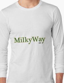 Milk Way Bar T-Shirts & Hooides Long Sleeve T-Shirt