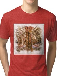 The Atlas of Dreams - Color Plate 193 Tri-blend T-Shirt