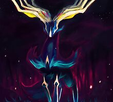 Xerneas by Del Northern