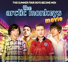 Arctic Monkeys Movie Poster by ghostlight2