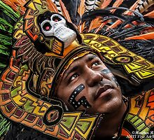 Azteca Warrior by heatherfriedman