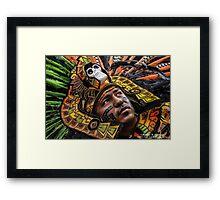 Azteca Warrior Framed Print