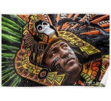 Azteca Warrior Poster