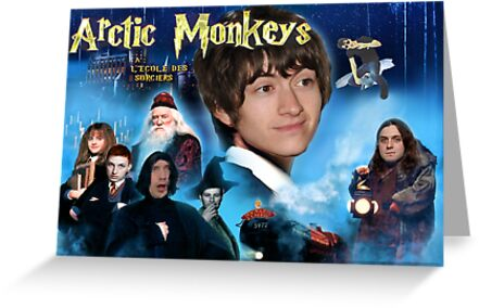 Arctic Monkeys Harry Potter Poster by ghostlight2