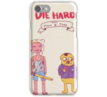 Die Hard with Finn and Jake iPhone Case/Skin
