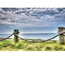 A view of Lake Michigan, Near South Beach, South Haven, MI Photographic Print