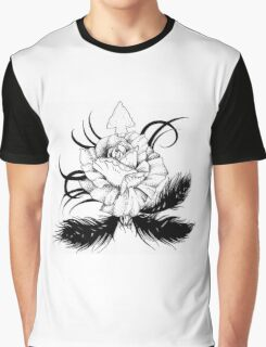 tribal feathers and roses Graphic T-Shirt