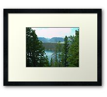 Dillon Reservoir - Summit County, Colorado Framed Print