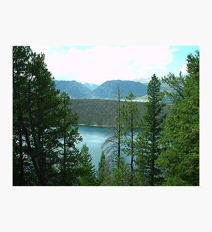 Dillon Reservoir - Summit County, Colorado Photographic Print