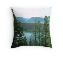 Dillon Reservoir - Summit County, Colorado Throw Pillow