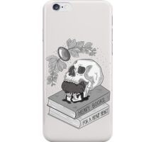 Heavy Books For A Heavy Heart iPhone Case/Skin