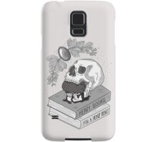 Heavy Books For A Heavy Heart Samsung Galaxy Case/Skin