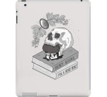 Heavy Books For A Heavy Heart iPad Case/Skin