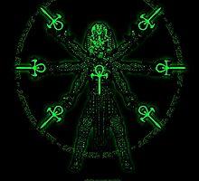 Divinci Ankh Man by Dark Threads