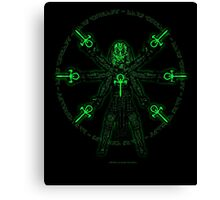 Divinci Ankh Man Canvas Print
