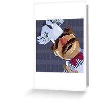 "Swedish Chef ""Bork Bork"" Greeting Card"