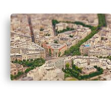 Paris or Just a Model? Canvas Print