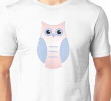 Rose Quartz & Serenity Owl 2 Unisex T-Shirt