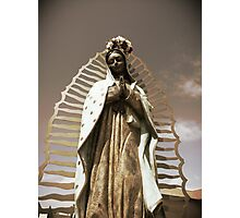 Virgen de Guadalupe Photographic Print