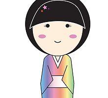 Yukata- Starred Bun by meehantom