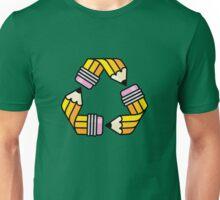 Creativity Cycle (Yellow School Pencil) Unisex T-Shirt
