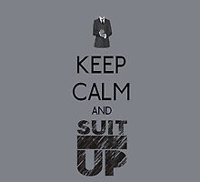 Keep Calm And Suit Up! by jes0613