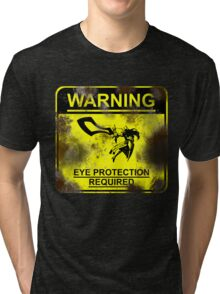 Leona - Eye Protection Required  Tri-blend T-Shirt